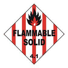 Class 4 Flammable Solids