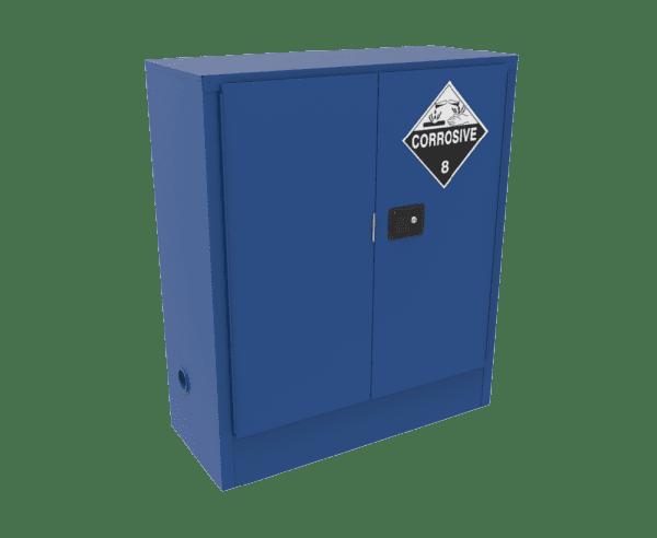 Blue 160L Corrosive Storage Cabinets