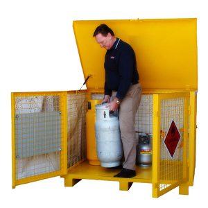 Class 2.1 LPG Storage Cage