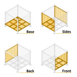 Series 90 Steel Pallet Cages