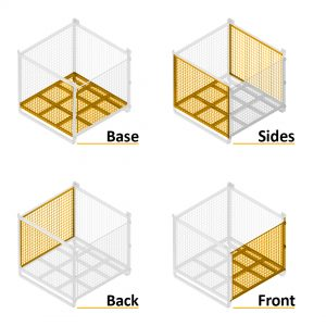Series 90C Steel Pallet Cages