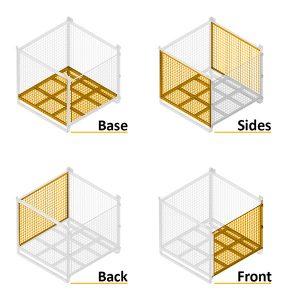 Series 90C Steel Pallet Cages