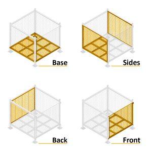 Series 90 Steel Pallet Cages
