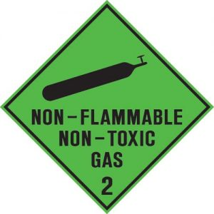 Class 2.2 Non-flammable Non- Toxic Gas