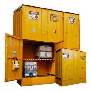 IBC Outdoor Pallet Storage