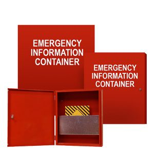 Emergency Information Storage Cabinets