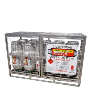 Class 2.1 Forklift Gas Storage Cages