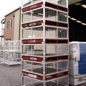 Collapsible Timber Pallet Cage