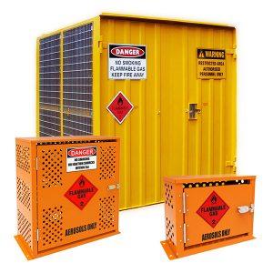 Gas and Aerosol Storage