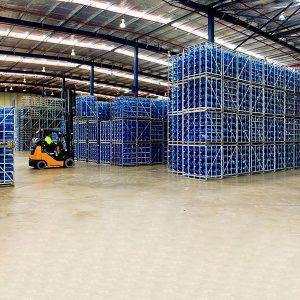 Water Bottle Pallets